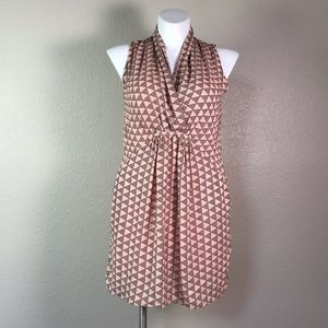 COLLECTIVE CONCEPTS SLEEVELESS PINK BLACK DRESS